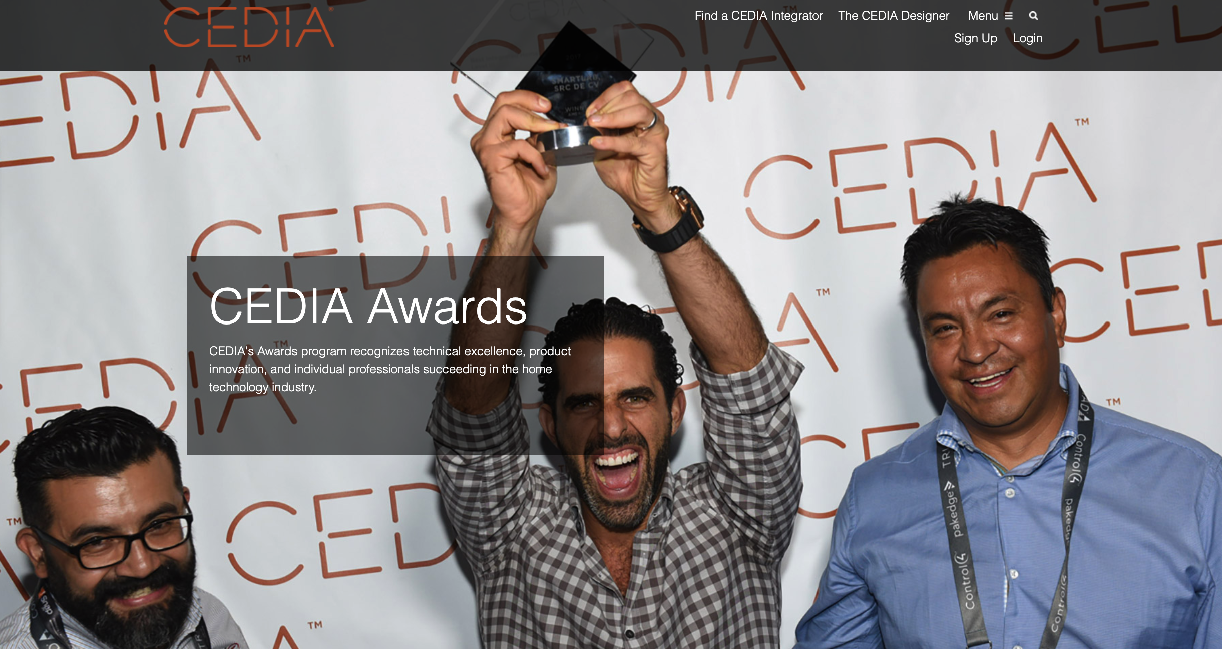 CEDIA Extends Award deadline for 2021