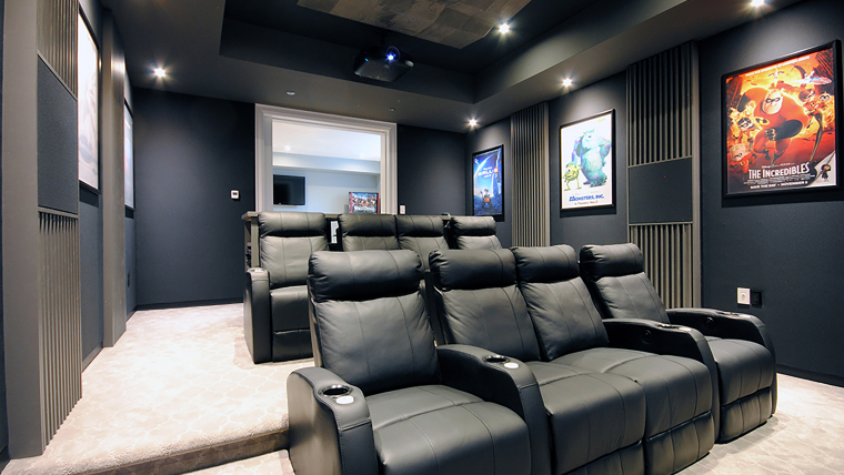 Acoustic Interiors Home Theater