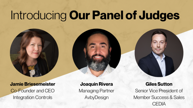 Connected Design Awards 2020 Judges
