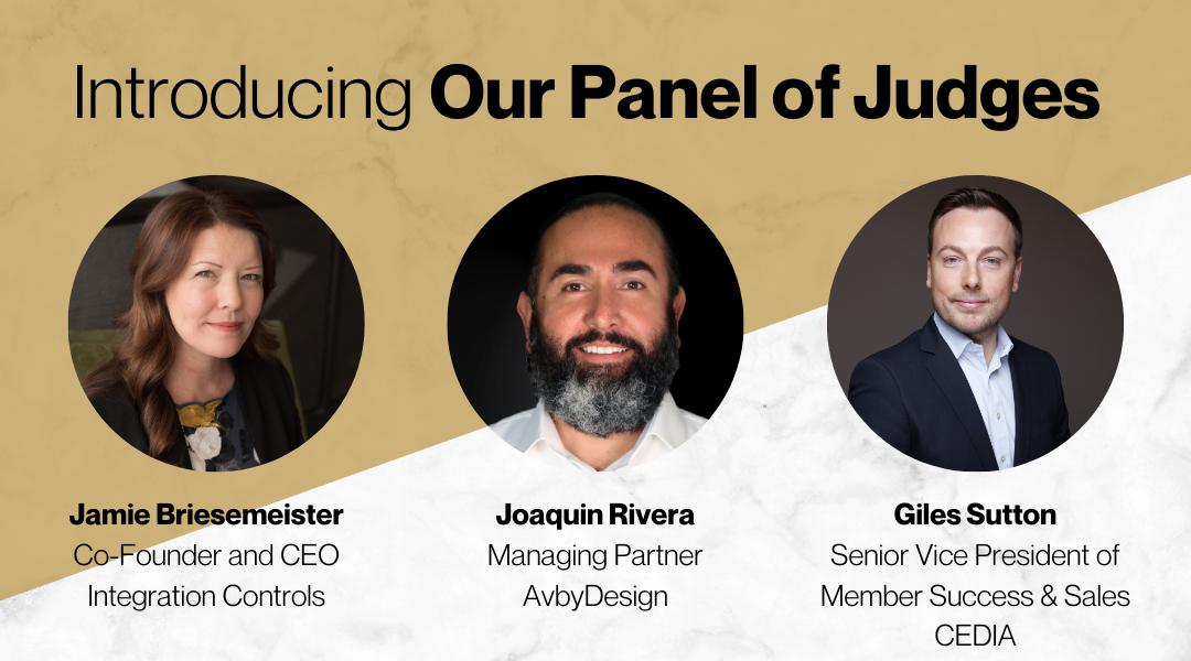 Connected Design Awards 2020 Judges