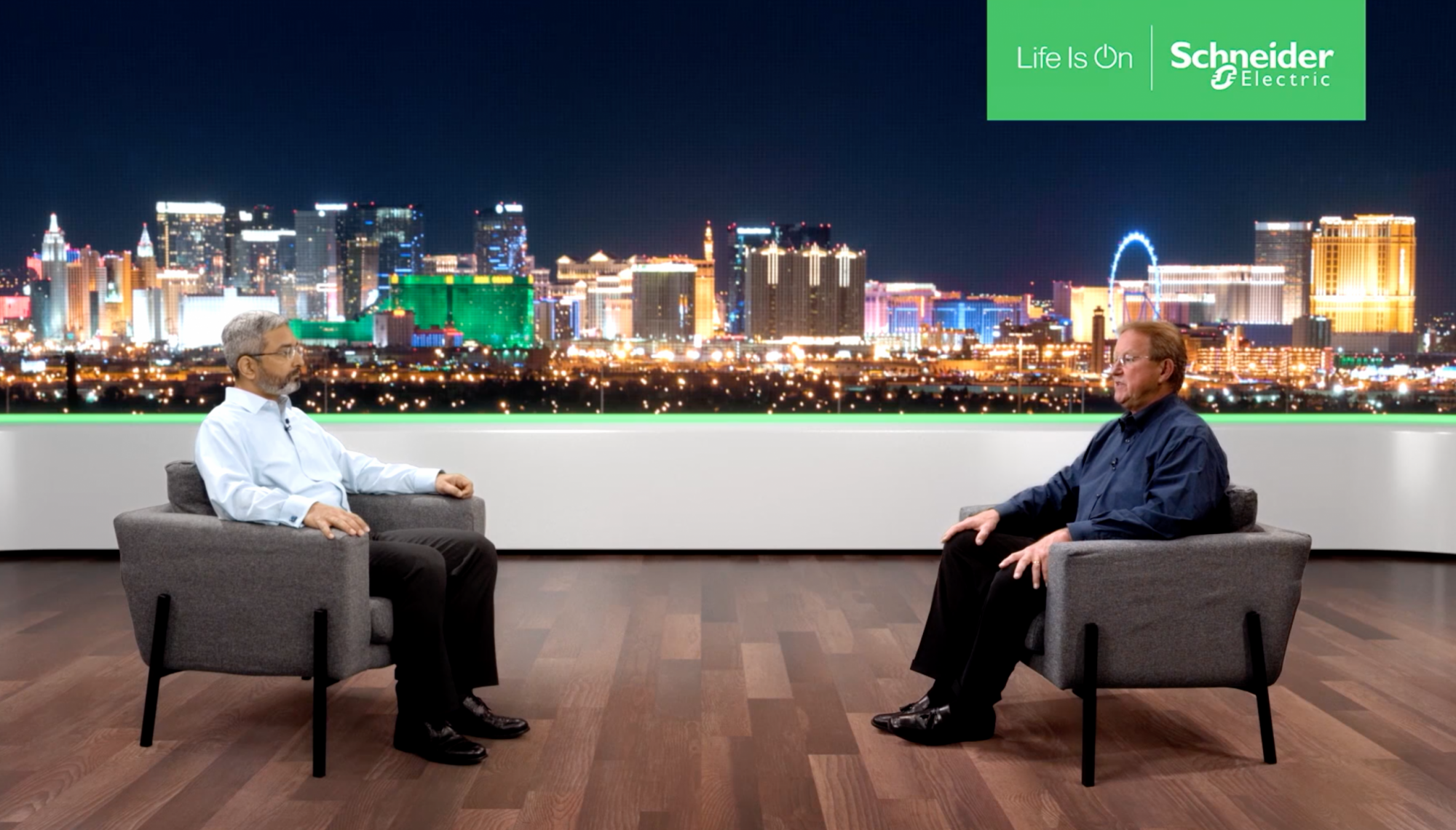 At CES 2021, Manish Pant, CEO & Executive VP for Home and Distribution Business, and Richard Korthauer, VP, Home and Distribution Business for Schneider Electric, discuss how the Square D Energy Center makes a home smart and sustainable.