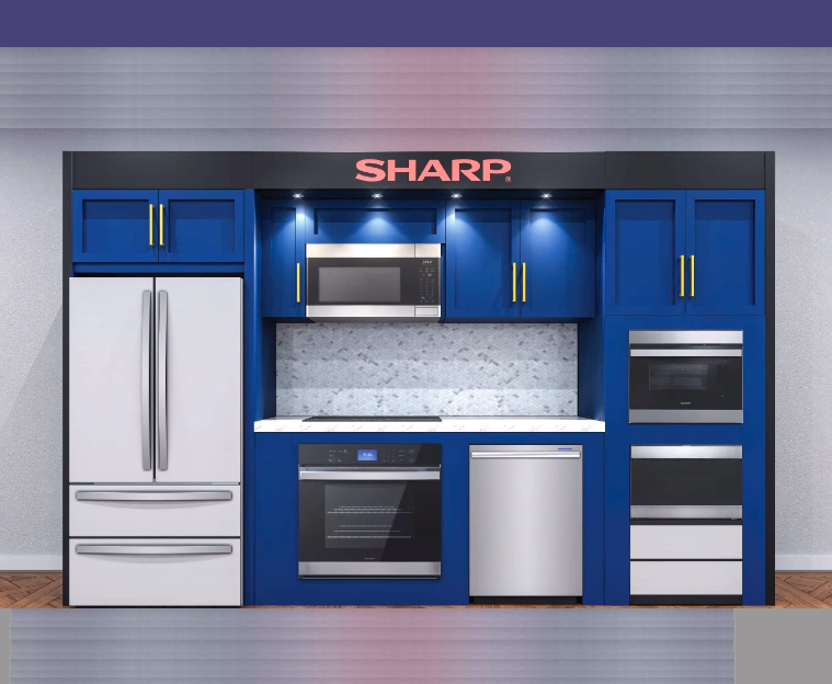 KBIS - Sharp presentation - Full Kitchen Suite - Featured Image