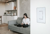 Wall-Smart offers aesthetically pleasing mount designs for everything from touchscreens and switches, like this one from Savant.