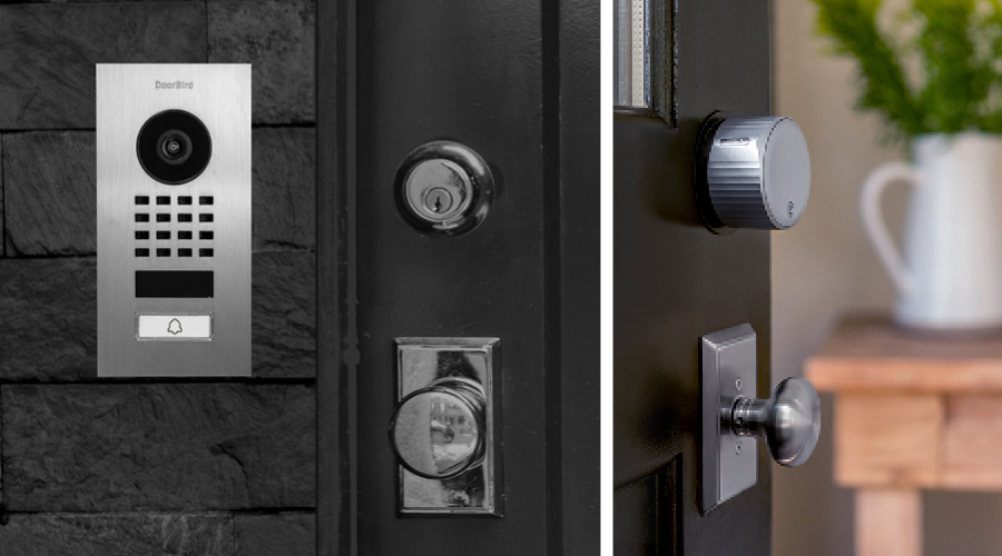 """Customers with with Yale and August smart locks can now fully integrate DoorBird IP video door stations for a seamless """"approach to entry"""" experience."""
