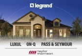 Legrand   AV has signed an agreement with nationwide homebuilder Taylor Morrison Homes for Luxul, On-Q, and Pass & Seymour brands.