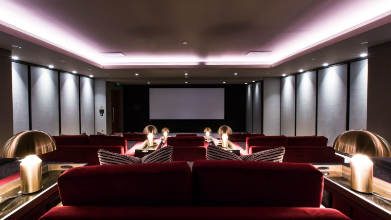 AONYX installs luxury theater in London, outfitted with Control4 and Triad speakers