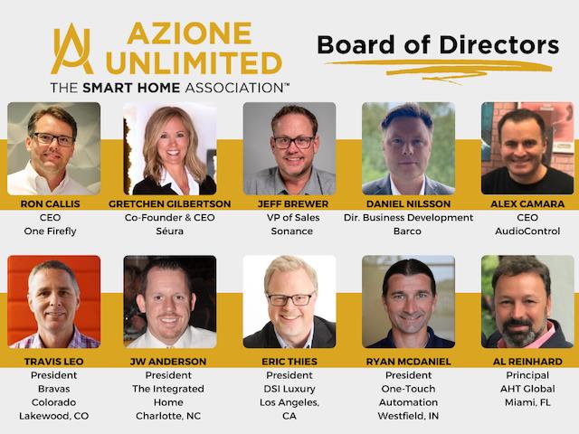 Azione Updates Board of Directors