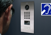 DoorBird Intros accessible communication add-on module for sensory-impaired
