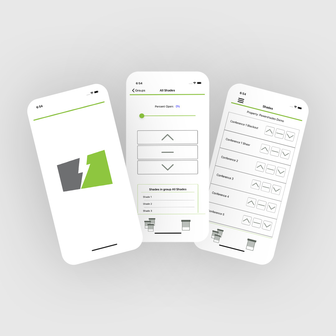 PowerShades Intros mobile app for automated shade control