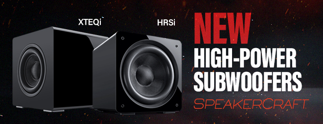SpeakerCraft launches new subs