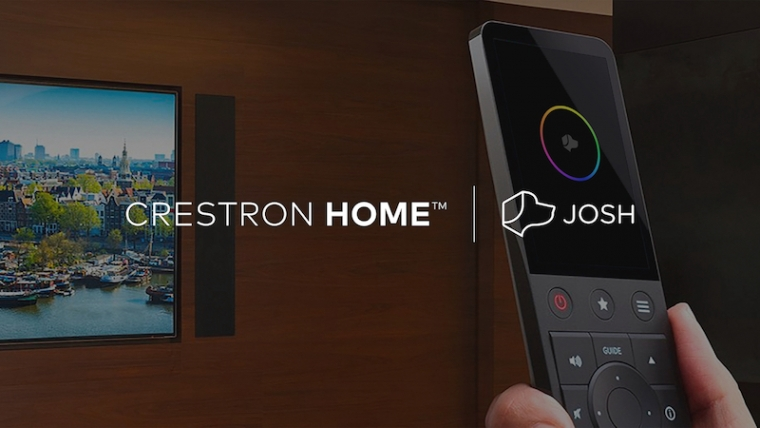Josh.ai integrated with Crestron Home