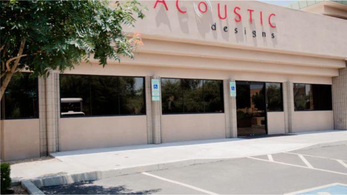 Acoustic Design Delos Showroom